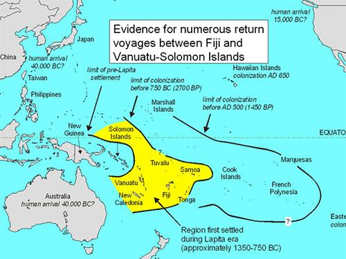Conjecture voyages fiji vanuatu solomon islands lapita potteryi controversy fiji vanuatu solomon islands gumiabroncs Gallery